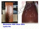 915X2135X3mm Melamine Wendge Molded HDF Door Skin