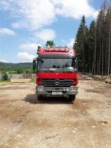 Camioane Transport Busteni Lungi - Mercedes-Benz transport buștean