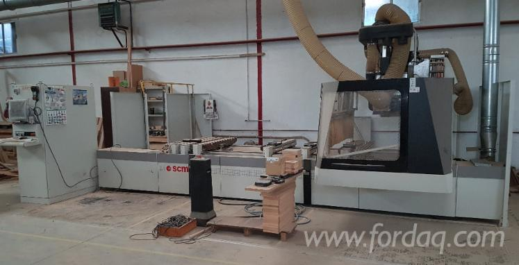 Used-SCM-RECORD-132-TVN-2006-CNC-Machining-Center-For-Sale