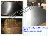 Plywood For Sale - Black Film Faced Marine Plywood, 9-21 mm thick
