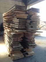 Hardwood  Unedged Timber - Flitches - Boules - Beech Half-Edged Boards, 10+ mm thick