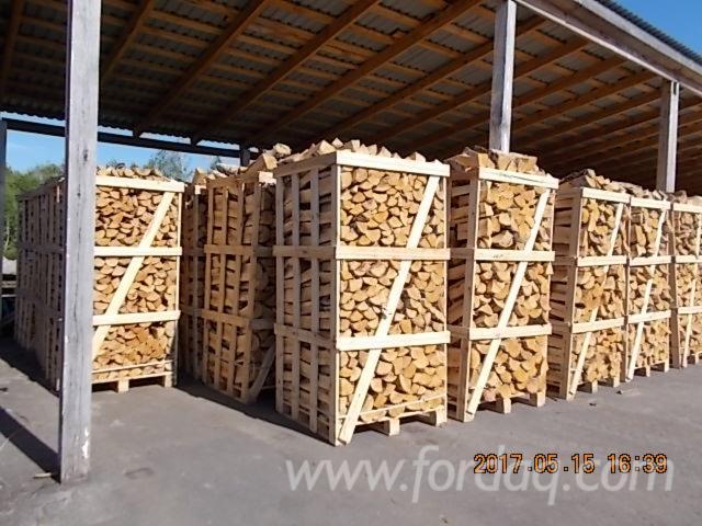 Birch Cleaved Firewood, 30 cm