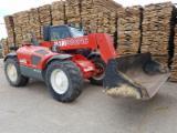Oprema Za Šumu I Žetvu Za Prodaju - Traktor S Prikolicom Manitou Manitou BF Polovna 2001 Rumunija