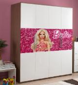 Art & Crafts/Mission Bedroom Furniture - Full Color MDF Wardrobe Digital UV Printing