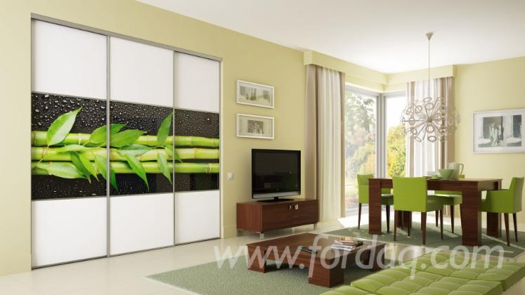 Full Color MDF Wardrobe Digital UV Printing