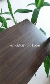 Surface Treatment And Finishing Products For Sale - Good adhesion Wood grain,Marble,Metallic hot stamp foil on MDF or wood edge