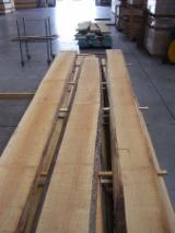 Hardwood  Unedged Timber - Flitches - Boules - KD Tilia (Lime Tree) Loose and Half-Edged Planks, 33-120 mm thick