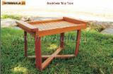 Garden Furniture - Acacia Stockholm Garden Portable Tray Table