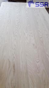 1 层实木面板, 白色灰
