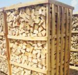 Energie- Und Feuerholz Zu Verkaufen - Buche Brennholz Gespalten