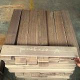 批发木皮 - 采购或销售木皮复合板 - 天然木皮单板, 黑胡桃, 平切,华纹