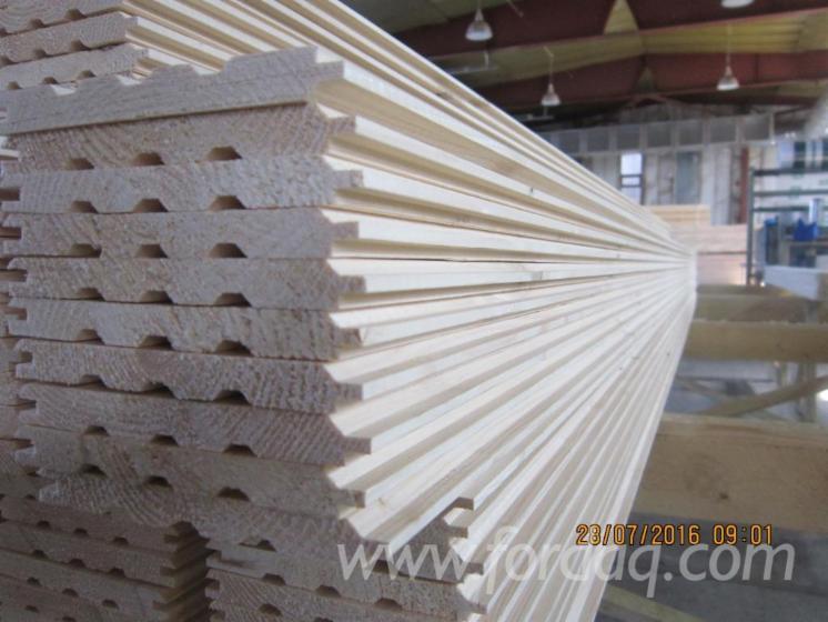 paneles para pared interior lambriz pino silvestre madera roja abeto madera blanca rusia en venta