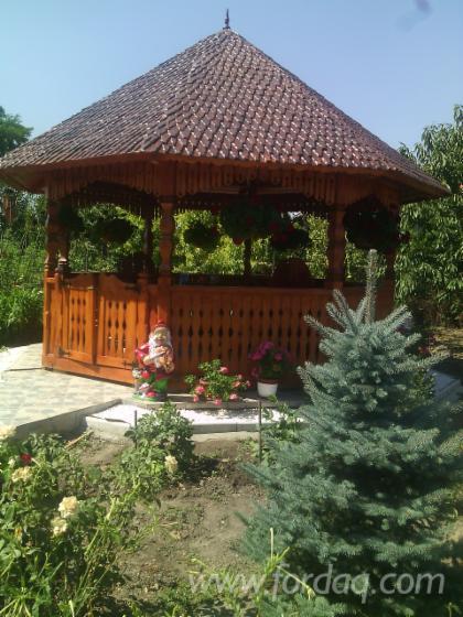 Wholesale Fir , Spruce Kiosk - Gazebo Romania