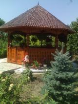 Europe Garden Products - Fir , Spruce Kiosk - Gazebo Romania