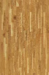 Engineered Wood Flooring - Cherry Engineered Flooring, Three Strip Wide, 14 mm thick