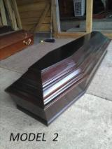 Coffins Finished Products - Spruce  Coffins Romania