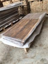 Wood Components, Mouldings, Doors & Windows, Houses Asia - Black Walnut / Wenge / Acacia Table Top With Live Edges