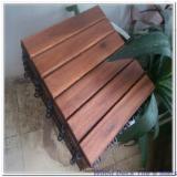 Terrassenholz Vietnam - Robinie , Rutschfester Belag (1 Seite)