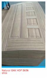 Yüksek Yoğunlukta Liflevha (HDF), Tik Ağacı, Kapı Yüzey Panelleri