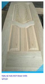 高密度纤维板(HDF), 白蜡树 , 门皮面板