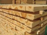 Schnittholz Und Leimholz - Nadelholz-Schnittholz, besäumt, vom Frischeinschnitt und/oder getrocknet ( auch HT mit Zertifikat ) direkt von einem der größten Sägewerke Polens