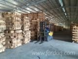 Rubberwood / Acacia Squares, KD, MC 12%, 63; 72 mm thick