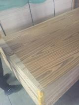 Wholesale Wood Boards Network - See Composite Wood Panels Offers - Straight Line / 4&6 Flowers / Black Or White Burl, Engineered Veneer Faced MDF