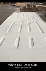 White Panels Deep Moulded HDF Door Skin