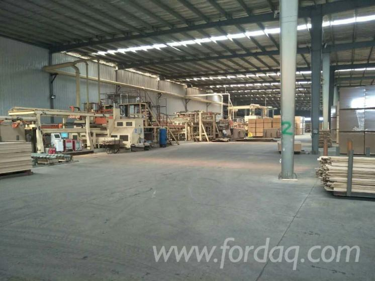 Particle-board-production