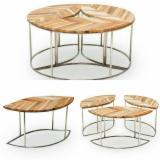 Indonésie - Fordaq marché - Vend Tables Design Feuillus Asiatiques Teak