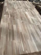 Kenarından Lamine Paneller Satılık - 1 Ply Solid Wood Panel, Akasya