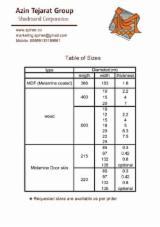 İran - Fordaq Online pazar - Orta Yoğunlukta Liflevha (MDF), Kapı Yüzey Panelleri