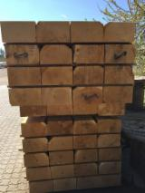 Sawn and Structural Timber - Oak Railway Sleepers 100; 120; 150 mm