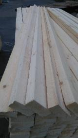 Softwood  Sawn Timber - Lumber - KD Spruce Planks, 50 x 100 x 2985 mm