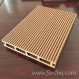 Exterior Decking  Composite Wood  - WPC Wood Plastic Components - WPC Anti-Slip Decking, 25 x 150 x 2200 mm