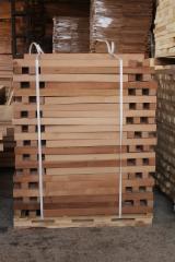 Hardwood  Sawn Timber - Lumber - Planed Timber Beech - Beech Squares, KD, 20-100 x 40-100 mm