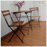 Garden Furniture - Acacia / Metal Frame Garden Sets