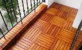 B2B Composite Wood Decking For Sale - Buy And Sell On Fordaq - Acacia Deck Tiles 30x30 cm