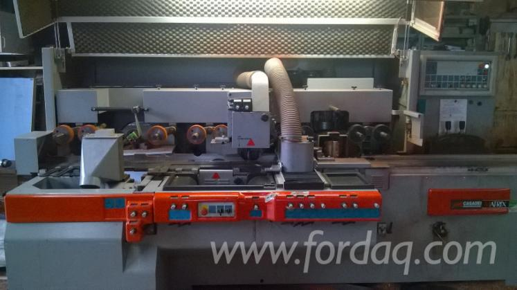 Used-Casadei-Busellato-Matrix-2005-Moulding-Machines-For-Three--And-Four-side-Machining-For-Sale