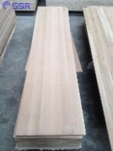 1 Schicht Massivholzplatten, Eiche