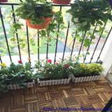 Exterior Decking  - Acacia Anti-Slip Deck Tiles, FSC, 19 x 300 x 300 mm