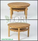 Кавовий дубовий стіл КЛАРА