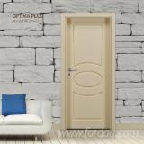 Wood Components, Mouldings, Doors & Windows, Houses Asia - MDF Doors, PVC finish - from Turkey