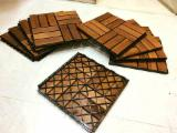Find best timber supplies on Fordaq - Anti-slip Wood Deck Tiles for Bath Rooms and Swimming Pools