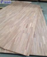 Chapa Y Paneles Asia - Venta Panel De Madera Maciza De 1 Capa Acacia 12/15/18/24/30/33/40 mm Vietnam