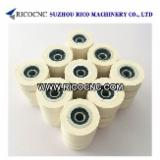 China Woodworking Machinery - Rubber Pressure Roller Wheels with Bearing for Edgebanders