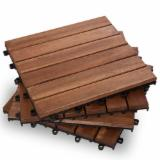 B2B Composite Wood Decking For Sale - Buy And Sell On Fordaq - Outdoor Deck Tiles 2017: New Design, No Screw
