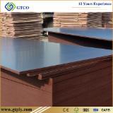 Plywood Supplies - 18mm Brown Film Faced Plywood Eucalyptus Core Phenolic WBP Waterproof Glue
