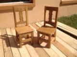 Dining Room Furniture Beech For Sale - Rustic chairs