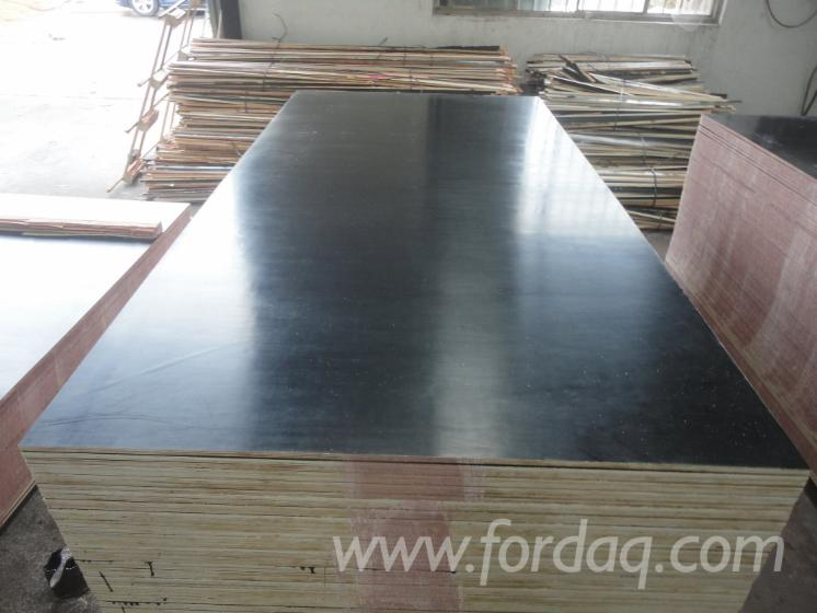 Best Prices 18mm Black Film Faced Plywood Poplar Core Wbp Glue